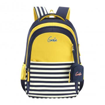 GENIE NAUTICAL PLUS YELLOW 17 SCHOOL BAGS FOR GIRLS