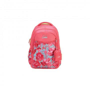GENIE VALENTINES PINK 27L SCHOOL BAGS FOR GIRLS