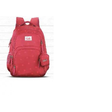 Genie Velvet Pink 36L Backpack For Girls