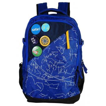 Safari Constellation 35 Liters Blue Laptop Backpack