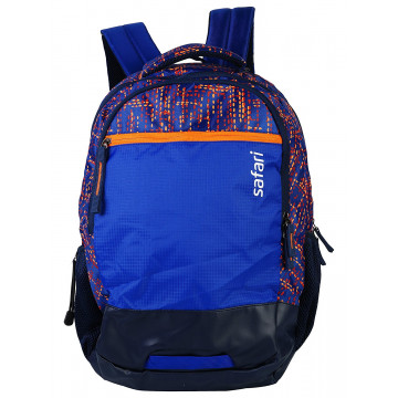 Safari Dotmatrix 35 Liters Blue Laptop Backpack