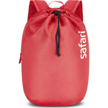 Safari Drawstring Cherry Red 10 L Daypack