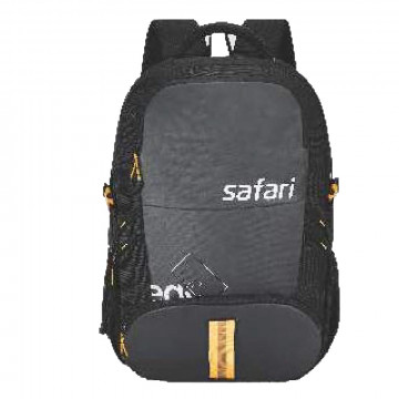 Safari Expand 3 Black 51L Hidden Compartment Laptop Backpack Bags