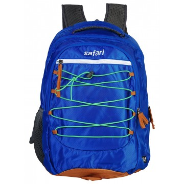 Safari Flipfold 35 Liters Blue Laptop Backpack