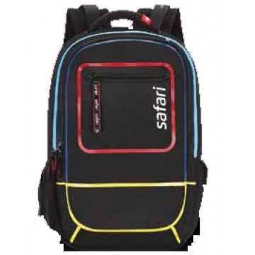 Safari Ignite Groovy Black 31 Ltr Laptop Backpack