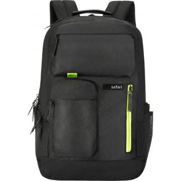 Safari Marathon 28 L Black Laptop Backpack