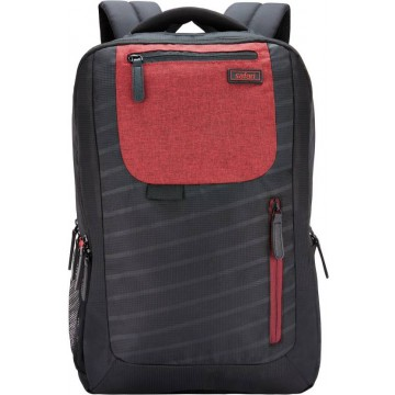 Safari Target Compact Black Laptop Backpack