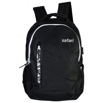 Safari Whiz 35 Liters Black Laptop Backpack