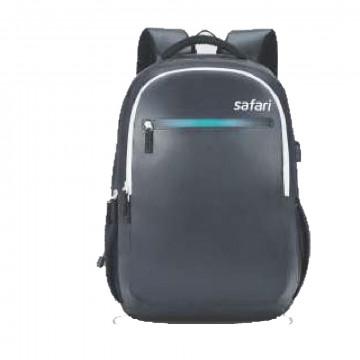 Safari Zing 2 Blue 38L USB Charging Port Laptop Backpack Bags