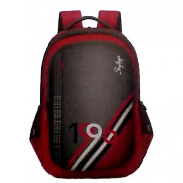 Skybags Beatle 03 Grey Red 27 Ltr Laptop Backpack