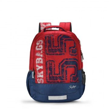 Skybags Bingo 01 Red 35 L Red Backpack