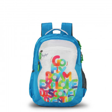 Skybags Bingo Plus 05 36 L Blue Backpack