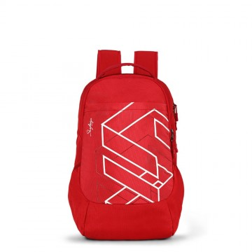 Skybags Felix 01 30 L Laptop Red Backpack