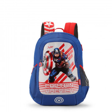 Skybags Marvel Champ 06 Blue 18 Ltr Backpack