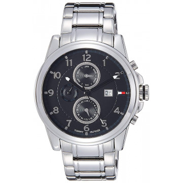 Tommy Hilfiger NTH1710296J Chronograph Black Dial Men's Watch