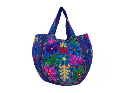 The Living Craft Ethnic Kutch Women's BAG with RABARI Embroidery Multicolor TLCBG0314