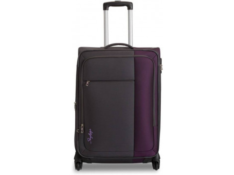 Skybags cube Expandable Cabin Luggage - 55 Cms  (Multicolor)