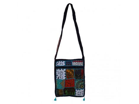 The Living Craft MIX PATCHWORK WOMEN's SLING BAG Multicolor TLCBG0233