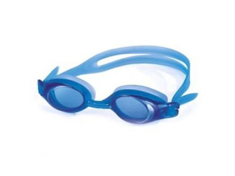 PLYR High Quality Slip-Resistant Swimming Goggles with Earplugs (Blue)