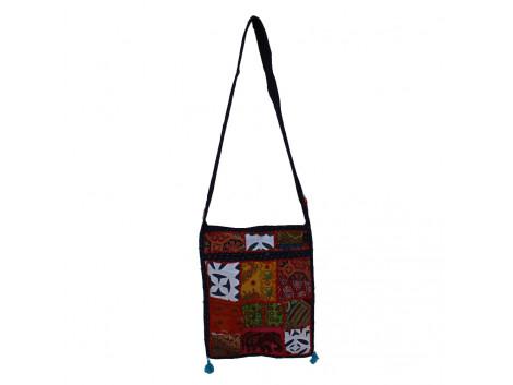 The Living Craft MIX PATCHWORK WOMEN's SLING BAG Multicolor TLCBG0234