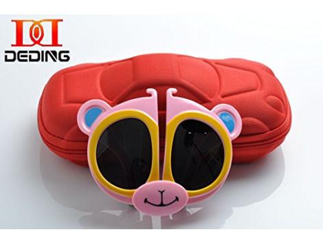 KIDS Folding Sunglasses Goggle Cartoon Animal Shape Best RETURN GIFT FOR Birthday Party SET 12