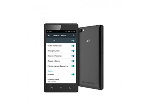 LYF Flame F8 Dual Sim 4G VoLTE (1GB RAM/8GB ROM /Android 6.0 Marshmallow)Black