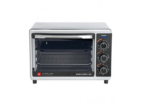 Cello Bake N Grill 300 1000-Watt Oven Toaster Griller Stainless steel Black