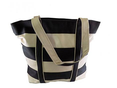 Brown Leaf Women's/Girl's Handbag (Multicolor,bl1096)