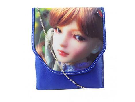 Brown Leaf Women Regular Series 3D Handbag sling bag wallet clutch for women,Girls,Ladies