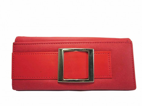 Brown Leaf Regular Series Red hand wallet clutch for women Girls ladies BL1014