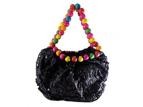 Brown Leaf Hand Bag Potli Bag Beautiful Designer Bag for women ,Girls and Ladies