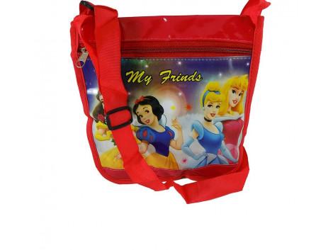 Brown Leaf Leather Sling bag Hand bag Wallet for kids
