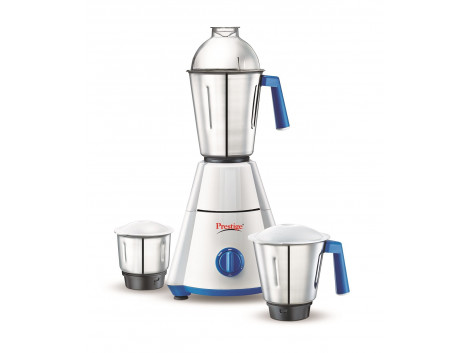 Prestige Nakshatra 41348 500-Watt Mixer Grinder (White/Blue)