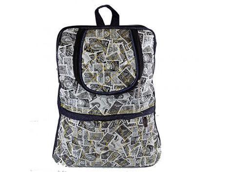 Brown Leaf bagpack school bag college bag for women Girls & Ladies