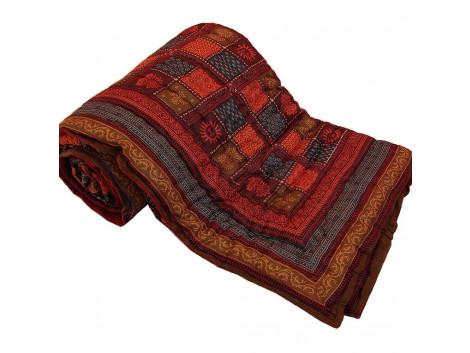 Jaipuri Print Cotton Double Bed Quilt