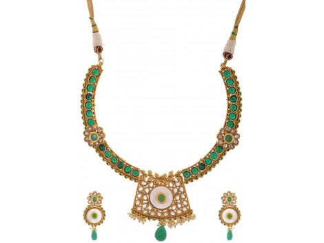 SPE Multicolor Choker Necklace Set for Women (SPE N 23)