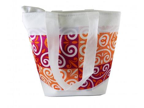 Brown Leaf Women Small Handbag bag luggage bag for women,Girls & Ladies