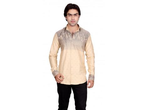 Pezzava Cotton Formal Wear Men's Shirt