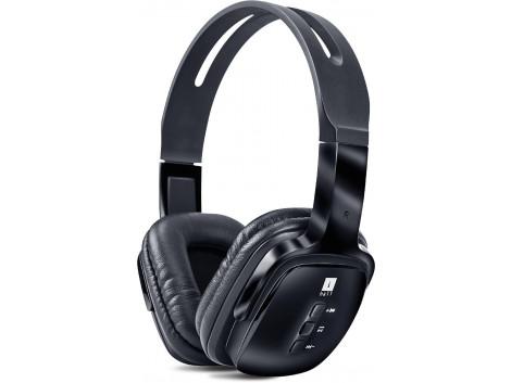 iBall Exquisite Design PulseBT4 Neckband Wireless Headphones With Mic Black