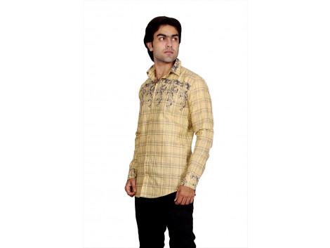 Pezzava Cotton Formal Wear Shirt For Men's