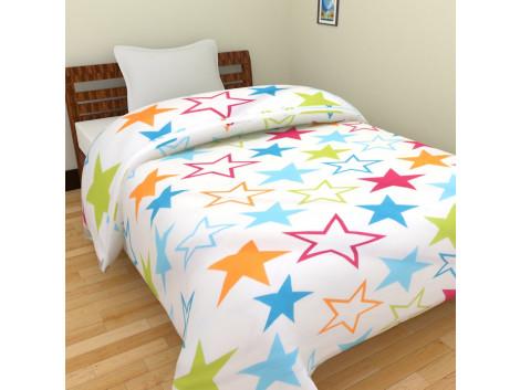 Krishna Cartoon Single Bed Blankets