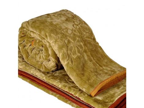 Double Bed Mink Blanket Bed Sheet