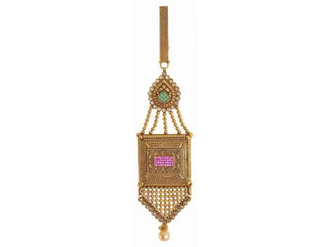 SPE Gold Metal Saree Pin for Women (SP-02)