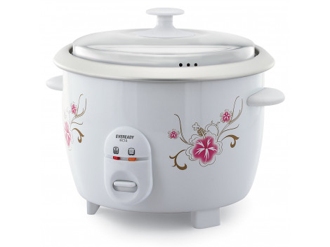Eveready RC18 1.8-Litre Rice Cooker (White)