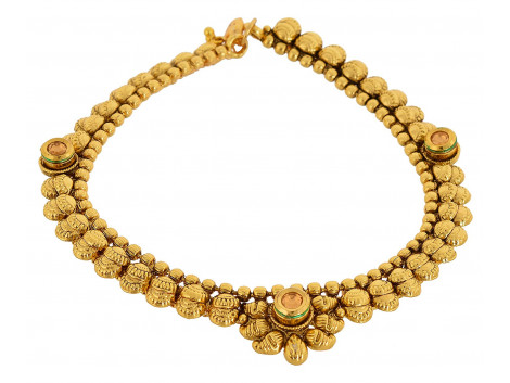 SPE Gold Metal Anklets for Women (AN-02)
