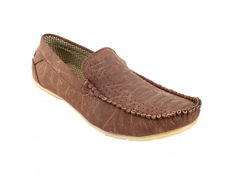 Kassler Sturdy Brown Casual Shoes/Loafers