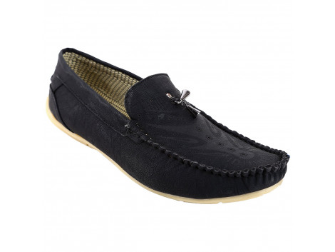 Kassler Classic Black Casual Shoes/Loafers