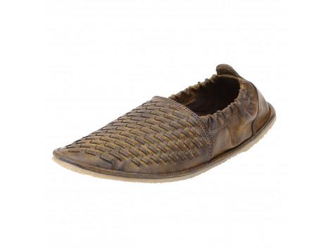 Kassler Men Brown Braided Casual Shoes