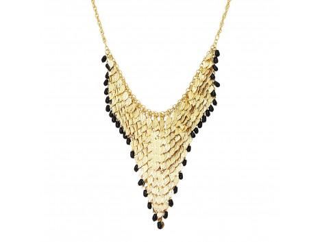 Archiecs Creations Gold Plated Alloy Chain Neckpiece for Women
