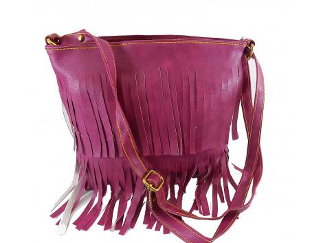 Brown Leaf Women Regular Series Frill Handbag sling bag wallet clutch for women,Girls,Ladies